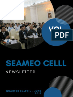 seameo celll newsletter vol 10-q2-2018