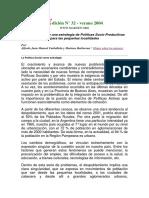 CARBALLEDA ALFREDO. LA POLITICA SOCIAL  COMO ESTRATEGIA