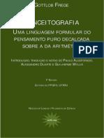 G. Frege - Begriffsschrift a Portuguese