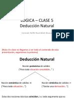 Deducción natural