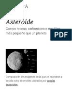 Asteroide - Wikipedia, la enciclopedia libre.pdf