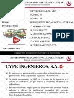 HERRAMIENTA TECNOLÓGICA –CYPE CAD