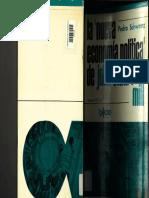 La ''Nueva Economía Política'' de John Stuart Mill. Pedro Schwartz.