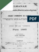 1885 - Almanak de Campos