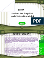 Bab IX Struktur Dan Fungsi Sel Pada Sistem Reproduksi