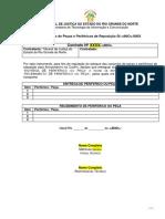 Formulario de Reposição de Peças