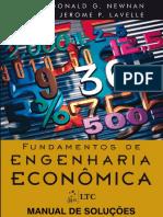 Solucionário_Fundamentos de Engenharia Econômica_Newnan