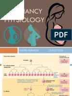 Pregnancy Physiology