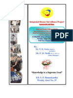 P-Form Weekly IDSP Alert - Week 37 BANASKANTHA PALANPUR