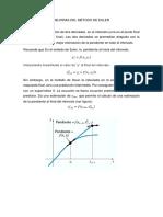 Mejoras Del Método de Euler o Heun