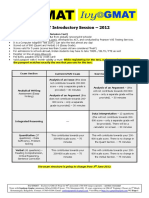 GMAT Demo Session Handout Jan 12 for Video Sessions 1 1