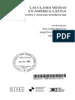 Hopenhayn, Martin, León, Arturo & Franco, Rolando (2010). Las clases medias en América Latina. Retrospectiva y nuevas tendencias.pdf