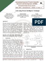 Enhanced RZ-Leach using Swarm Intelligence Technique