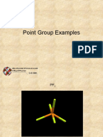 Point Group Examples