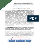 1.2 Sistemas de Informacion y La Admon Del Conocimiento