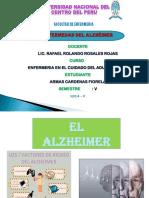 enfermedad del alzehimer