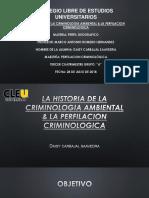 Historia de La Criminologia Ambiental