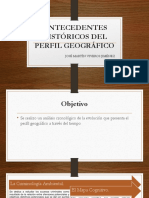 Antecedentes Perfil Geografico