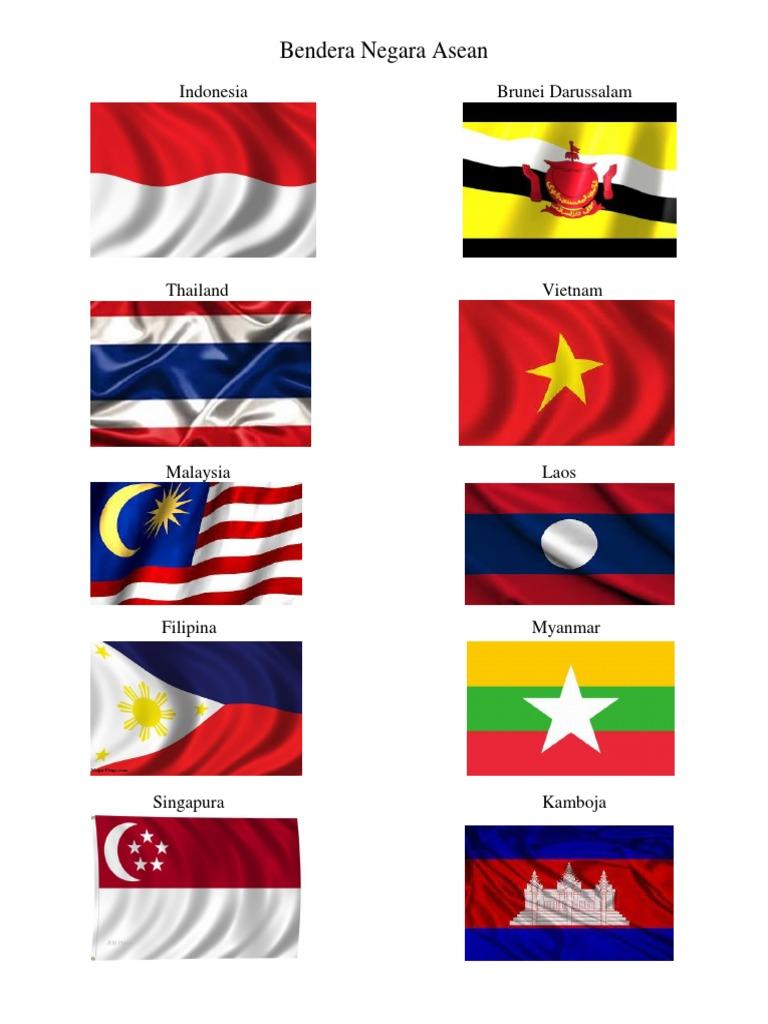 Bendera Negara Asean