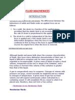 Fluid Mechanics Basics 1