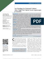 Modern Paradigm for Peritoneal Catheter Insertion .1