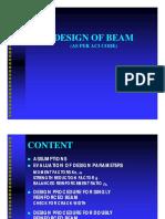 design beam ACI
