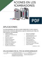 Aplicaciones en Los Intercambiadores (1)