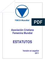 World YWCA Constitution 2011 SP