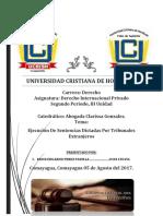 Exposicion Derecho Internacional Privado