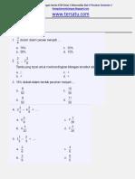 Soal Ulangan Harian Matematika KTSP Kelas 5 Bab 6 Pecahan SEmester 2.docx