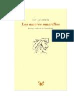 Corbiere Tristan - Los Amores Amarillos