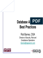 Database Auditing, Best Practices  May09_Slides.pdf