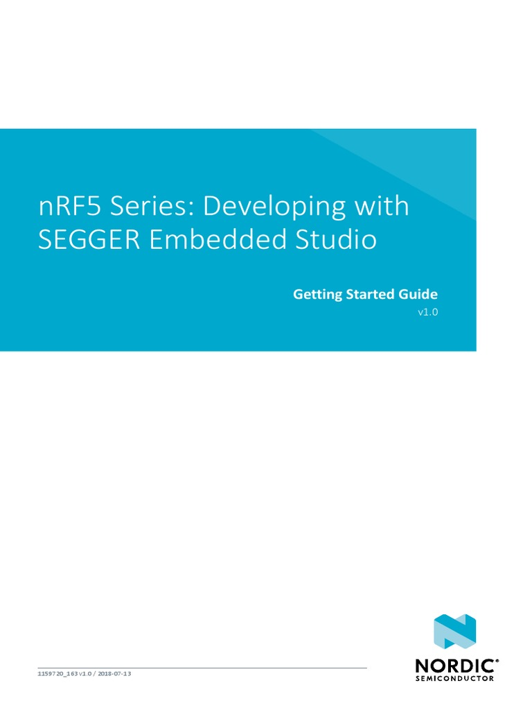 Getting Started Ses | Integrated Development Environment | Bluetooth