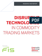 Disruptive Technologies in Commodity Trading Markets