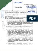 Carta notarial - Hinostroza hijo