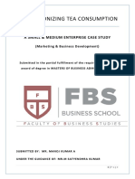 SME Case Study Report