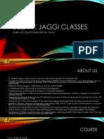Deepak Jaggi Classes