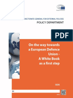 On the way towards a European Defence Union- A White Book as a first step
