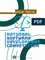 Petunjuk Teknis National Software Development Competition