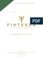 Finterra Whitepaper Latest 31.7.18