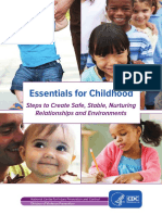 essentials for childhood framework