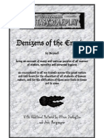 Warhammer FRP - NPCs - Denizens of the Empire - 2nd Ed