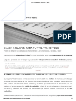 Claves TFG