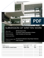 Procedural Architecture Using Shape Grammars - Alvarez and Losada