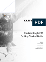 Clavister Prd Clavister Eagle e80 Getting Started Guide En