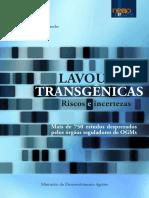 Lavouras Transgênicas - riscos e incertezas