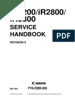 IR2200 IR2800 IR3300 Service Handbook