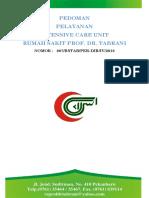 Cover Pedoman Pelayanan ICU