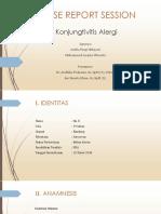 CRS Allergic Conjungtivitis