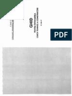 Ghid Pentru Intocmirea Cartii Tehnice a Constructiei-PC 001-97